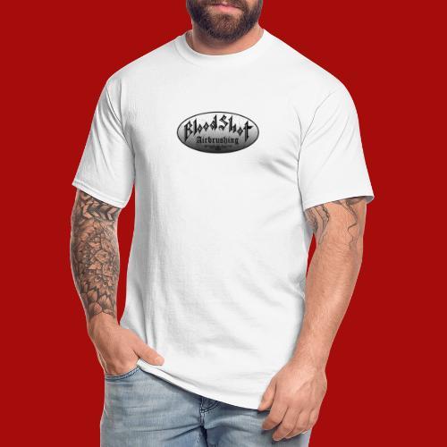 BloodShot Logo Black/White - Men's Tall T-Shirt