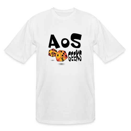 AOS Geeks NOIR - T-shirt grande taille homme