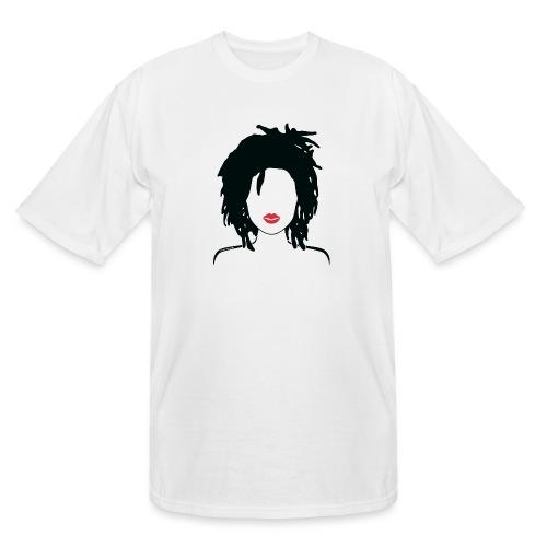 Locs & Lipstick_Global Couture Women's T-Shirts - Men's Tall T-Shirt