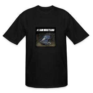 I AM MUSTANG III - Men's Tall T-Shirt
