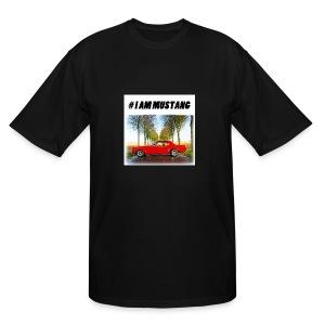 I AM MUSTANG IV - Men's Tall T-Shirt