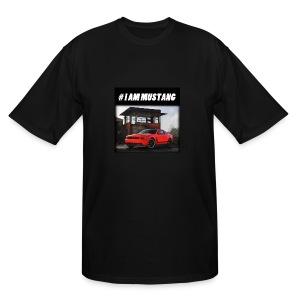 I AM MUSTANG V - Men's Tall T-Shirt