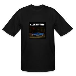 I AM MUSTANG VII - Men's Tall T-Shirt