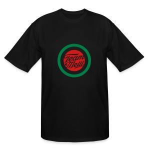 TEAM MELLI RETRO BADGE - Men's Tall T-Shirt