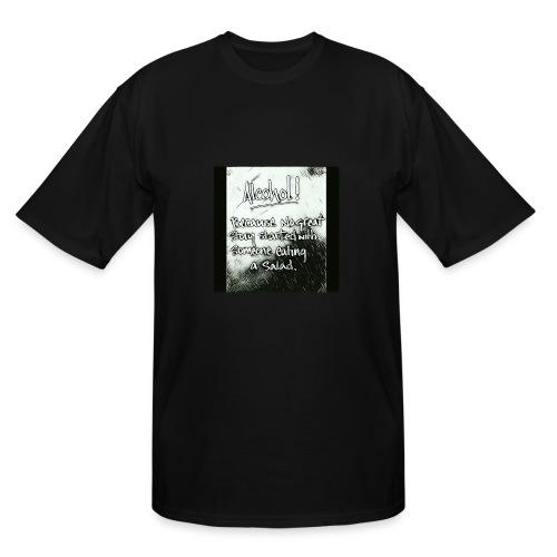 Alcohol - Men's Tall T-Shirt