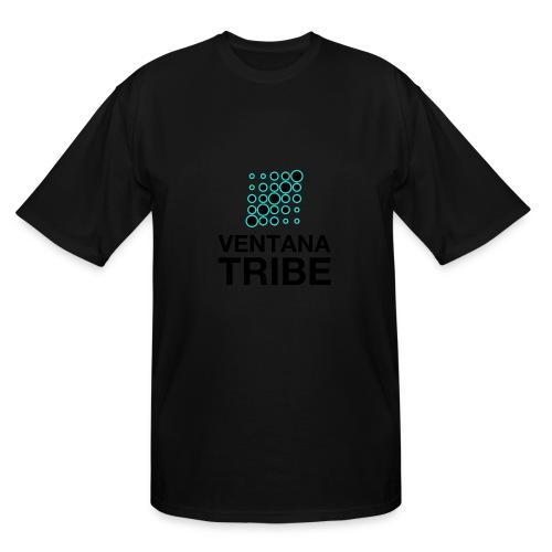 Ventana Tribe Black Logo - Men's Tall T-Shirt