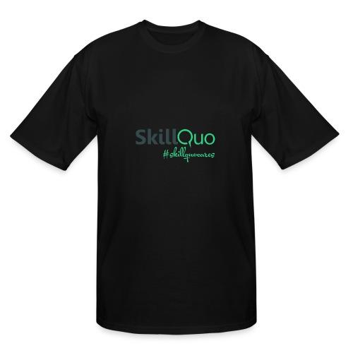 #Skillquocares - Men's Tall T-Shirt