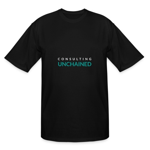 Consulting Unchained - Men's Tall T-Shirt