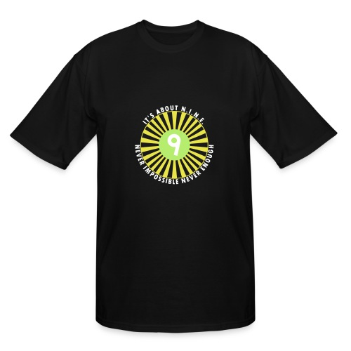 NINE Logo September 2018 - Men's Tall T-Shirt