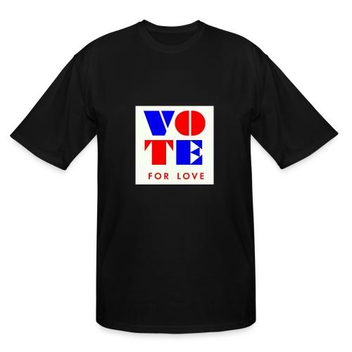 vote4love-sample - Men's Tall T-Shirt