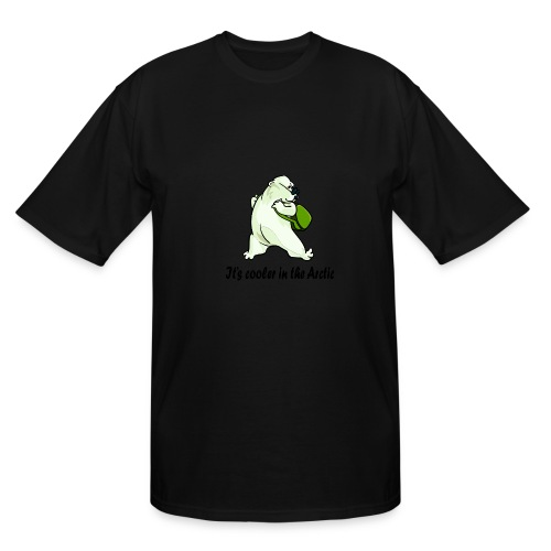 Cooler In The Arctic - Men's Tall T-Shirt