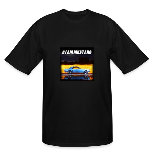 I AM MUSTANG II - Men's Tall T-Shirt