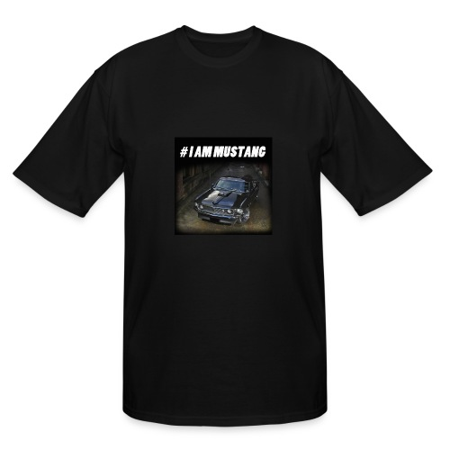 I AM MUSTANG III - Men's Tall T-Shirt