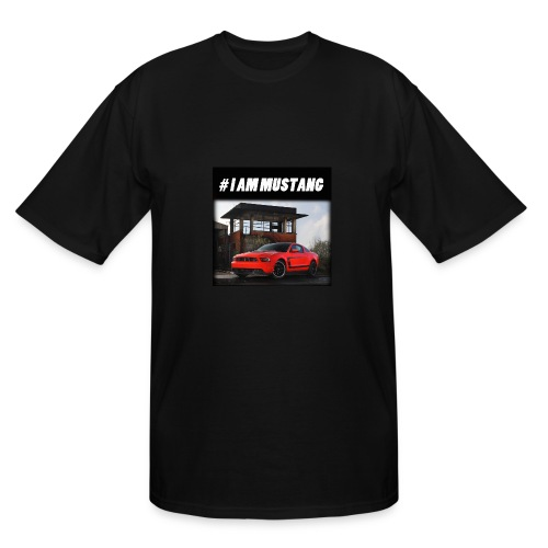 I AM MUSTANG V - Men's Tall T-Shirt
