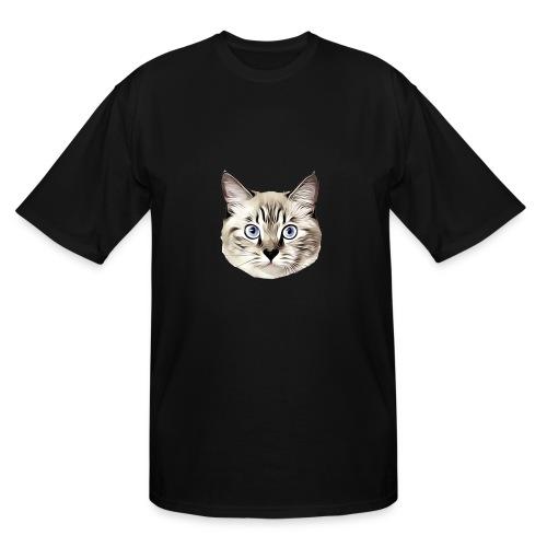 Lucyfur Grey - Men's Tall T-Shirt