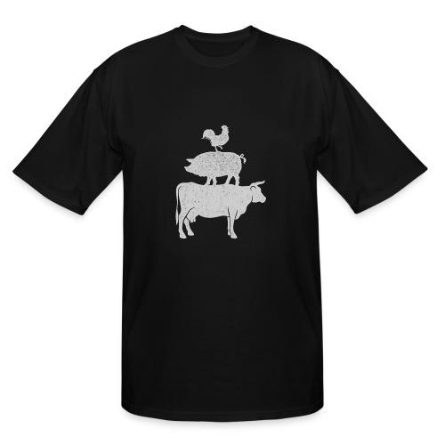 Pyramid Print2 - Men's Tall T-Shirt