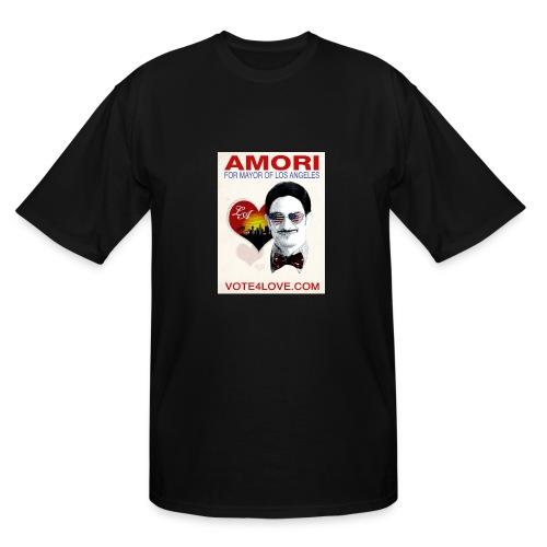 Amori for Mayor of Los Angeles eco friendly shirt - Men's Tall T-Shirt