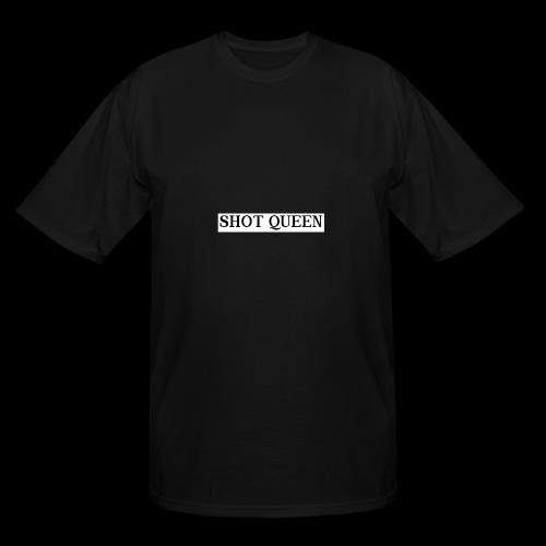 Shot Queen logo - Men's Tall T-Shirt
