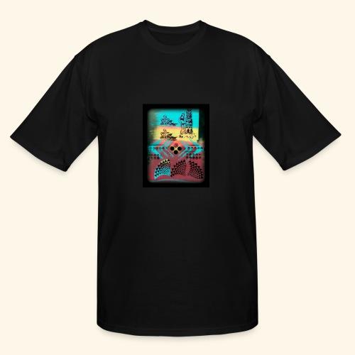Aloha Pattern - Men's Tall T-Shirt
