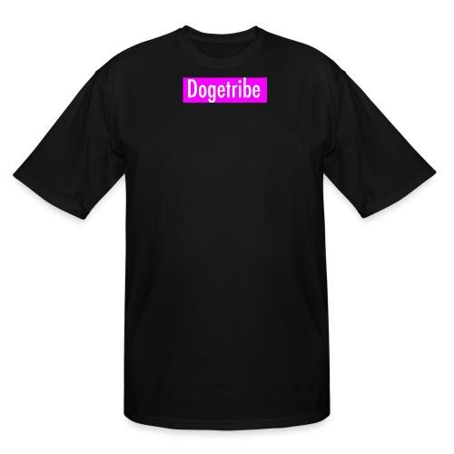 Dogetribe pink logo - Men's Tall T-Shirt