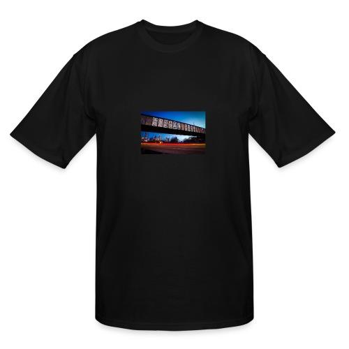 Husttle City Bridge - Men's Tall T-Shirt