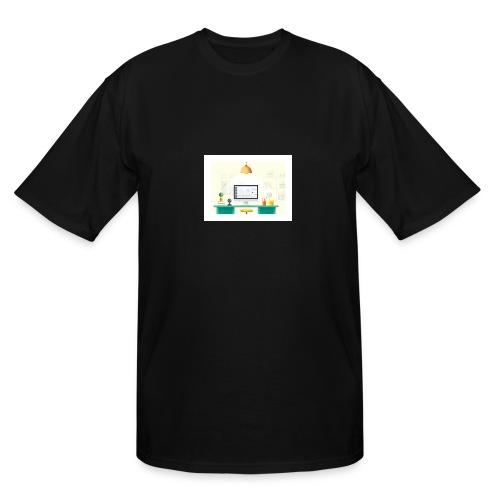 workspace - Men's Tall T-Shirt