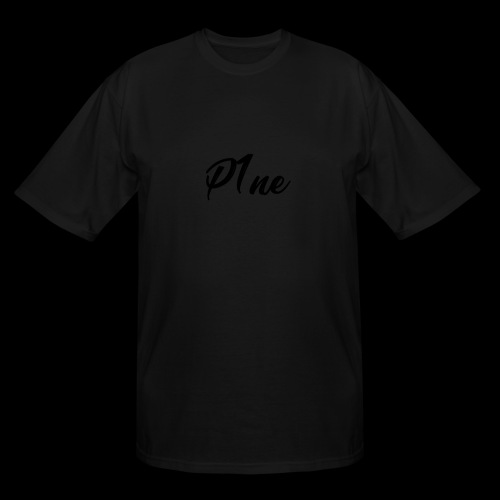 P1neMusic Black - Men's Tall T-Shirt