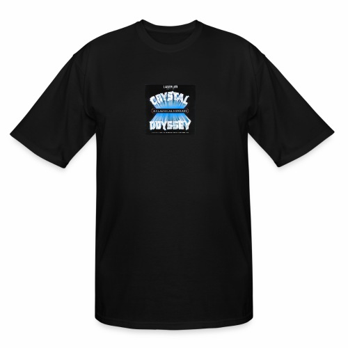 Laserium Crystal Osyssey - Men's Tall T-Shirt