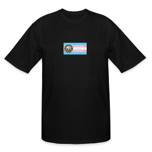 Transgender Navy - Men's Tall T-Shirt