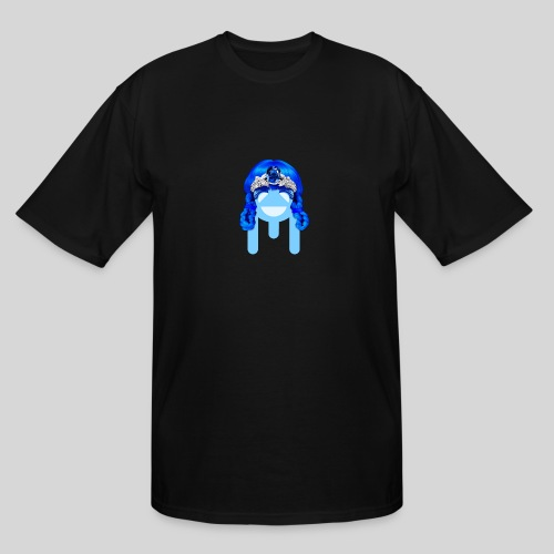 ALIENS WITH WIGS - #TeamMu - Men's Tall T-Shirt