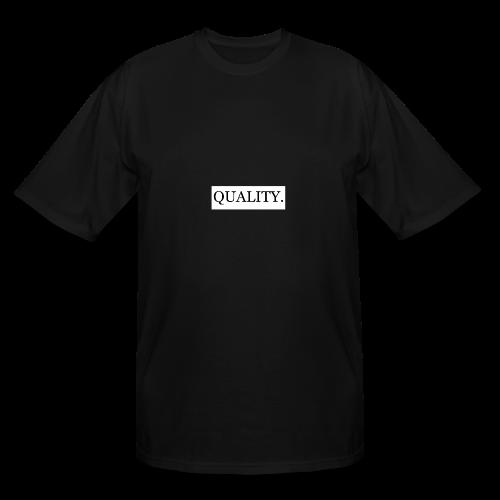 Quality Brand - Black - Men's Tall T-Shirt
