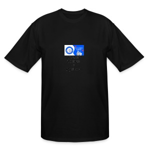 Character, Business & Skill Level - Men's Tall T-Shirt