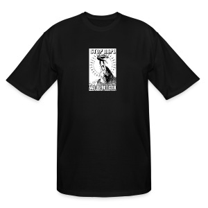 STOP DAPL Water Protector - Men's Tall T-Shirt