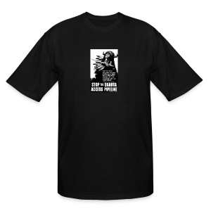 Stop the Dakota Access Pipe Line Prophecy - Men's Tall T-Shirt