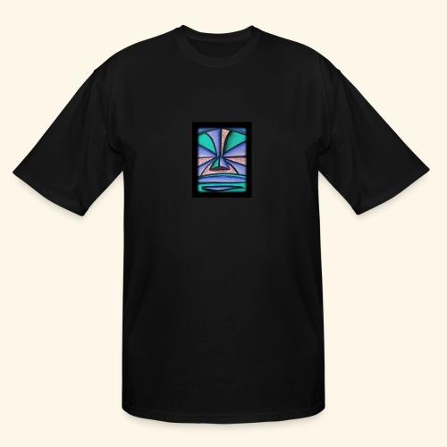 Pastel Tiki - Men's Tall T-Shirt