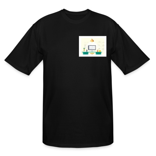workspace - Men's Tall T-Shirt