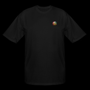 BURGER SWIRL - Men's Tall T-Shirt