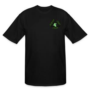 ATOMIC DOG GLOW - Men's Tall T-Shirt