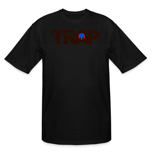 trap flow boricua design - Men's Tall T-Shirt