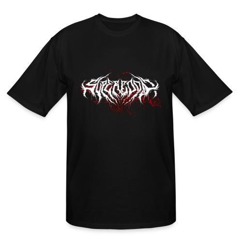 Supercool! Logo REVAMPIRED [BLOODY WHITE] - Men's Tall T-Shirt