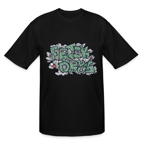 FRICK DRUGS! - Men's Tall T-Shirt