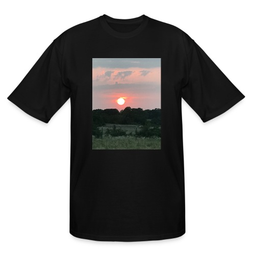 Nature Sunset - Men's Tall T-Shirt