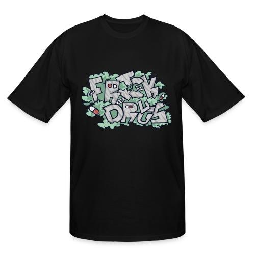 FRICK DRUGS! v2 - Men's Tall T-Shirt