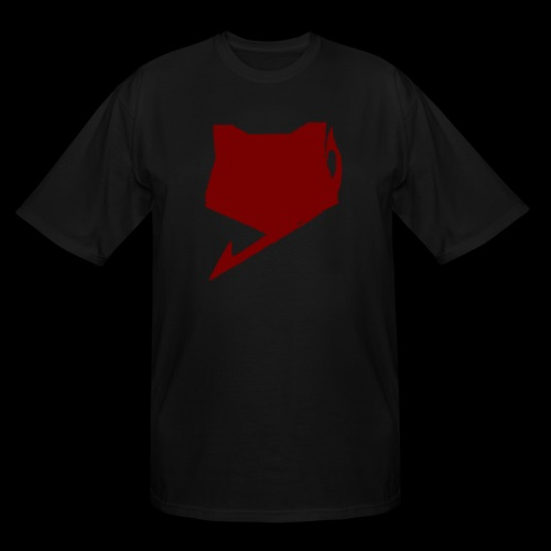 FoxTailArmy Red Logo Shirt - Men's Tall T-Shirt