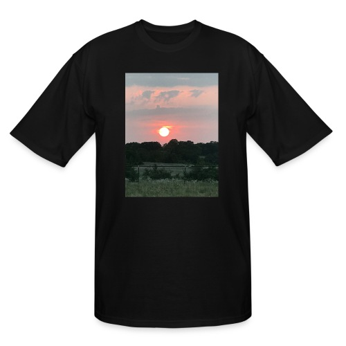 Nature Sunset - Men's Tall T-Shirt