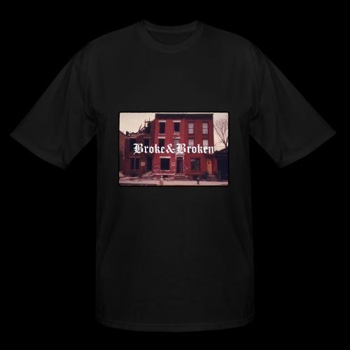 Broke and Broken Vintage NYC - Men's Tall T-Shirt