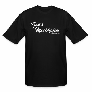 God's Masterpiece New Edition - Men's Tall T-Shirt