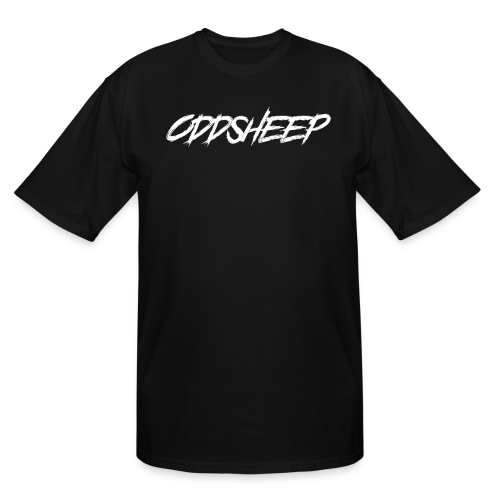 OddSheep White Logo - Men's Tall T-Shirt
