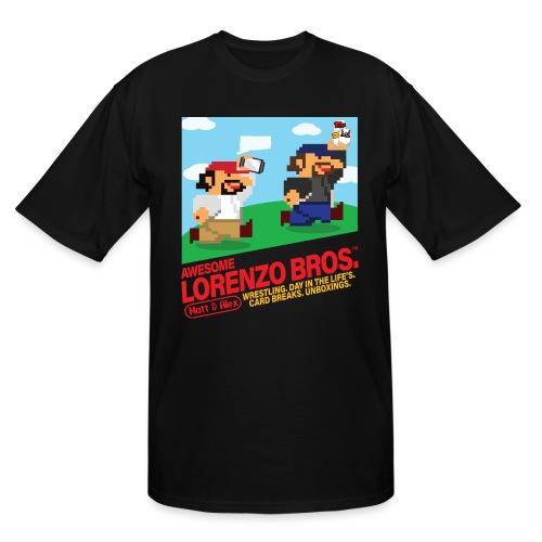 Awesome Lorenzo Bros 8 Bit - Men's Tall T-Shirt