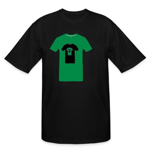 Green en abîme - Men's Tall T-Shirt